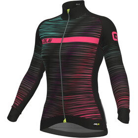 Alé Cycling Graphics PRR The End LS Jersey Women black-multicolor-fluo-pink